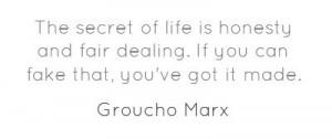 Groucho Marx, American comedian