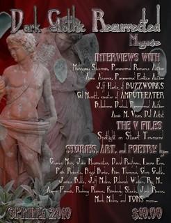 Dark Gothic Resurrected Magazine--APRIL 2010