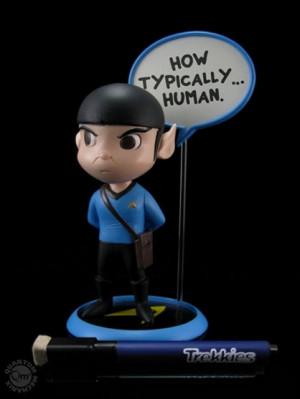 there are 3 available trekkies trekkies spock q pop figure