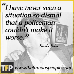 Brendan Behan Biography