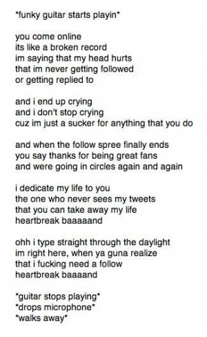 5sos Quotes Heartbreak Girl Heartbreak girl