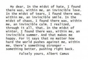 Albert Camus Quotes: Help!!!