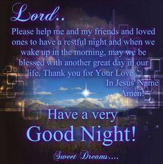 Christians Good Night Quotes
