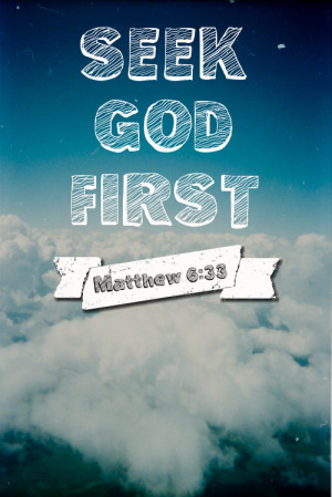 ... first, make the decision right now to change and seek God's way. Put