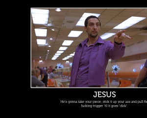 humor quotes meme people bowling the big lebowski pointing jesus john ...