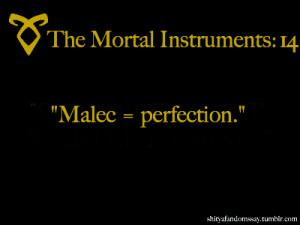 Malec = perfection.