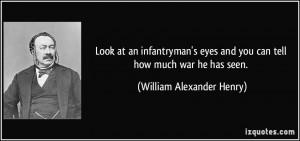 William Alexander Henry Quote