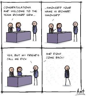 Male Funny New Job Card...