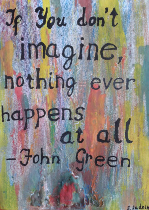 Paper Towns Quotes Tumblr John green quote by si-gyn