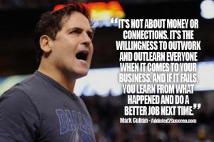 Mark Cuban Entrepreneur Picture Quote For Success