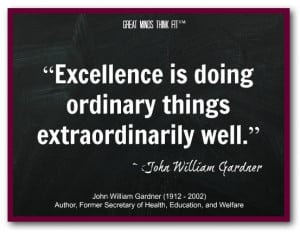 quotes about excellence in education