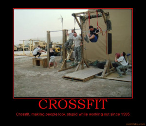 and crossfit can really only accomplish the conditioning part. However ...