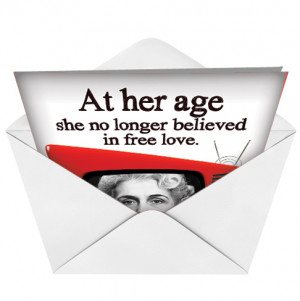Senior Citizen Discount Adult Naughty Humor Valentine's Day Greeting ...