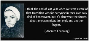 More Stockard Channing Quotes
