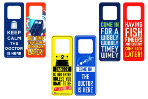 DOCTOR WHO: DOOR HANGERS