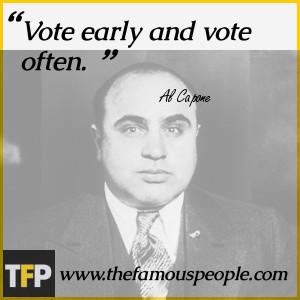 Al Capone Gun Quote