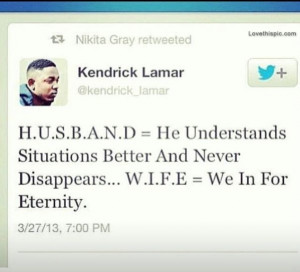 Kendrick Lamar Tumblr Quotes