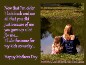 happy mothers day quotes 2013 daughter Happy Mothers day wishes for ...