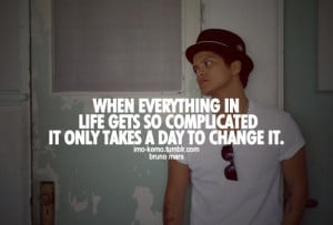 Bruno Mars Quotes About Life