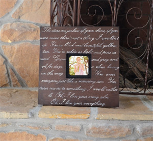 Frames With Quotes And Sayings: Wood Picture Frames With Quotes ...