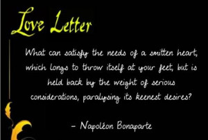 Napoleon bonaparte quotes and sayings best famous love cute