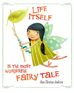 ... Cute garden fairy with quote From my Etsy shop, Janey's Superette! www