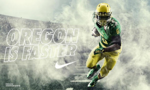 Oregon Ducks Nike Pro Bat Football Uniform Free HD Wallpaper