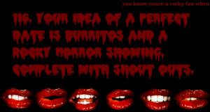 Rocky horror picture show quotes