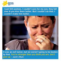 quote #cancer #kids #cancercouncil #mum #love #family #hope More