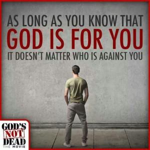 God' Not Dead 3/7/14