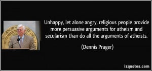 Unhappy, let alone angry, religious people provide more persuasive ...