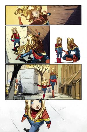 Marvel Comics Preview: Captain Marvel #10
