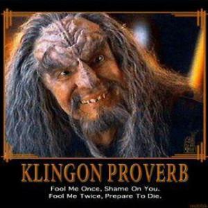 Making life better, Klingon style.