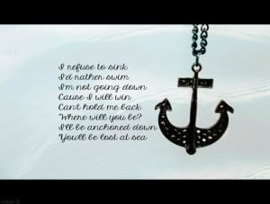 Go Back > Gallery For > Anchor Quotes About Love