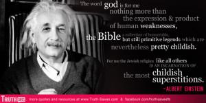 Einstein atheist quote