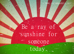 Ray of Sunshine Quotes