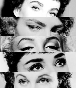 Marilyn Monroe, Audrey Hepburn etc