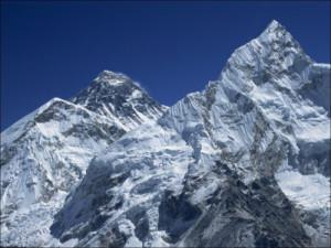 Snow-Capped Peak of Mount Everest Seen from Kala Pattar Himalaya ...