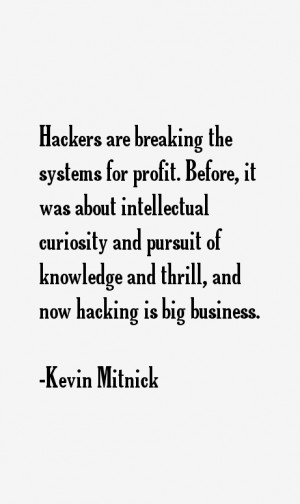 Kevin Mitnick Quotes & Sayings