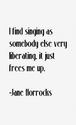 Jane Horrocks Quotes amp Sayings