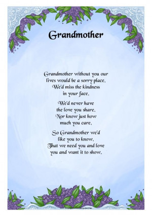 Granddaughter Birthday Poems From Grandma