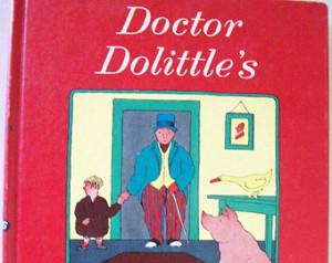 ... Puddleby Adve ntures by Hugh Lofting ~Vintage Children's Book