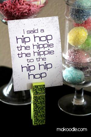 Hip Hop Easter Printable