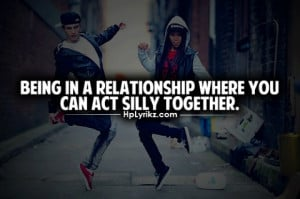 act silly together