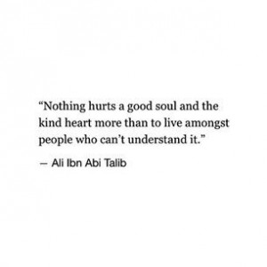 ... , No One Understands Quotes, Abi Talib, Meant To Be Alone Quotes