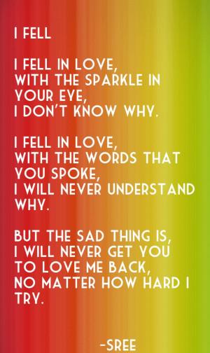 how to write a sad story to make someone cry