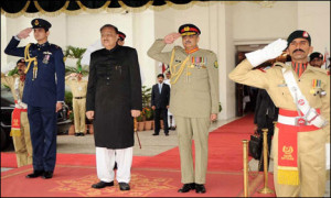 ISLAMABAD: The newly elected and sworn in President Mamnoon Hussain ...