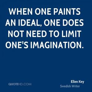 Ellen Key Imagination Quotes