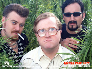 photo trailer park boys the trailer park boys from left ricky bubbles ...