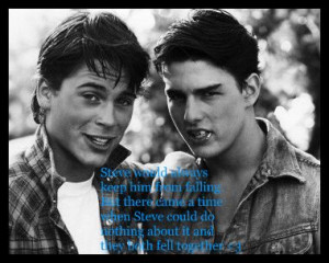 relationship takes 2 quotes from the outsiders